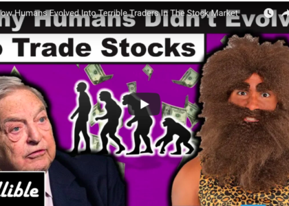 How Humans Evolved Into Terrible Traders In The Stock Market